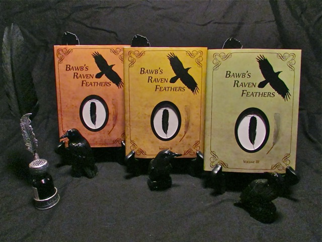 Bawbs Raven Feathers - Volumes 1 - 3